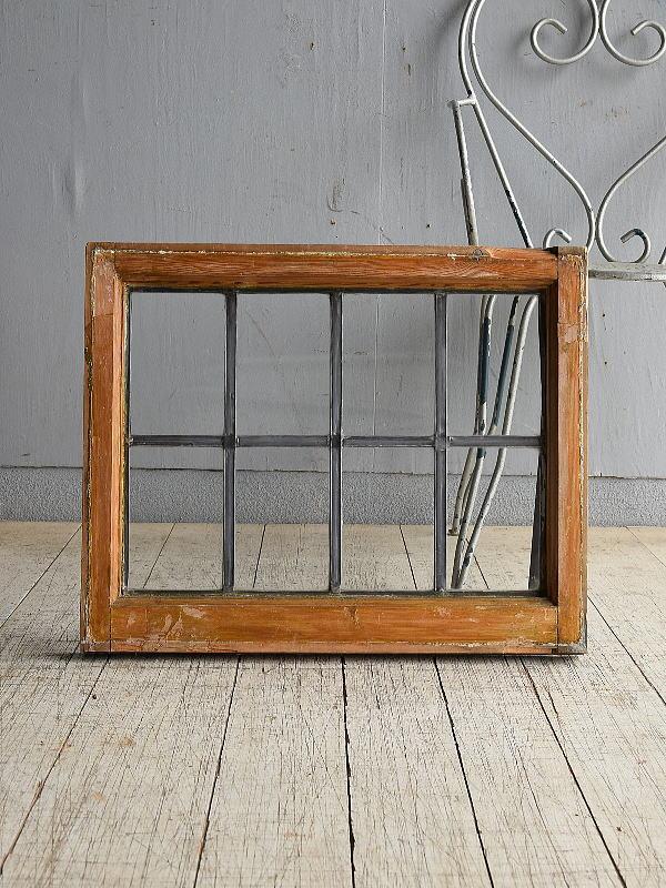 イギリス アンティーク 窓 無色透明 8532