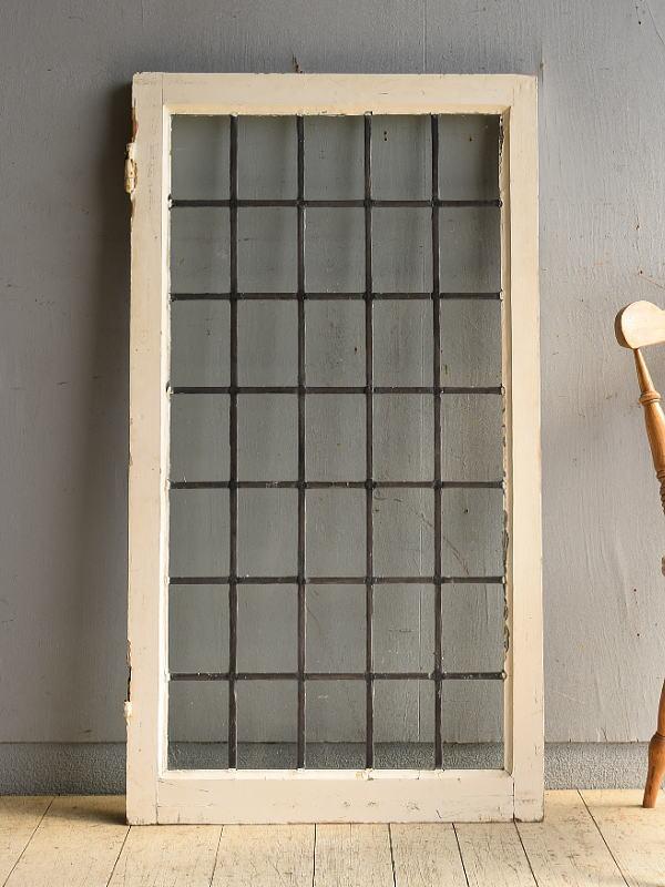 イギリス アンティーク 窓 ディスプレイ 建具 8538