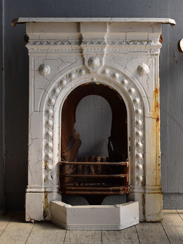 イギリス アンティーク ファイヤープレイス 暖炉 ディスプレイ 8545
