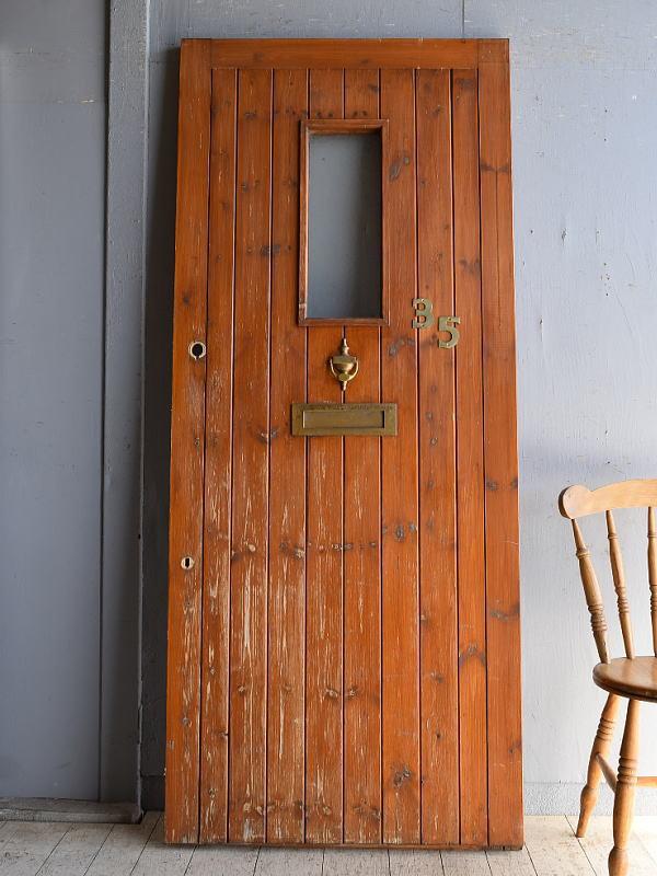 イギリス アンティーク ドア 扉 建具 8549