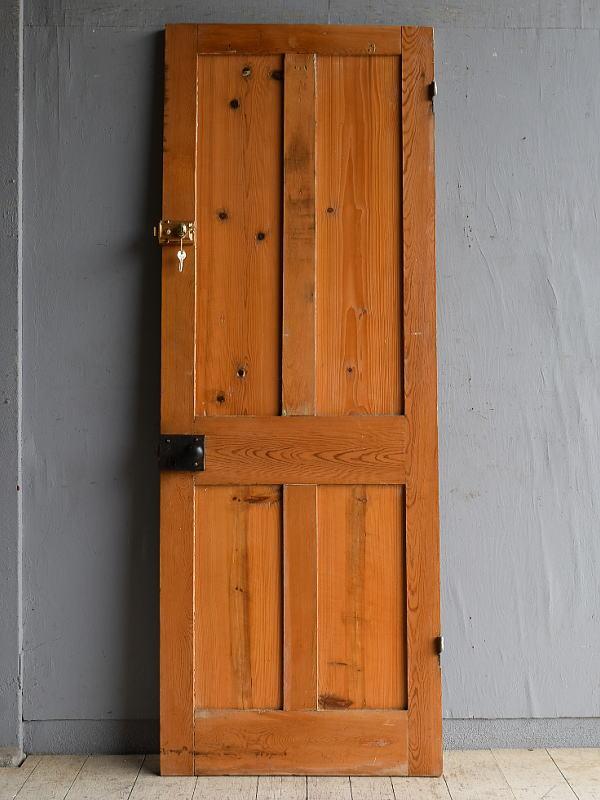 イギリス アンティーク パインドア 扉 建具 8551