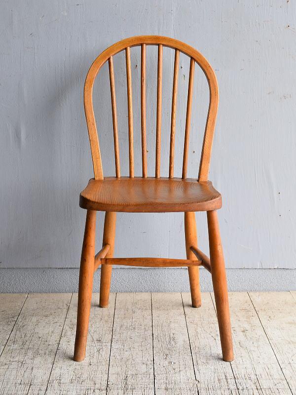 イギリス アンティーク家具 キッチンチェア 椅子 8552