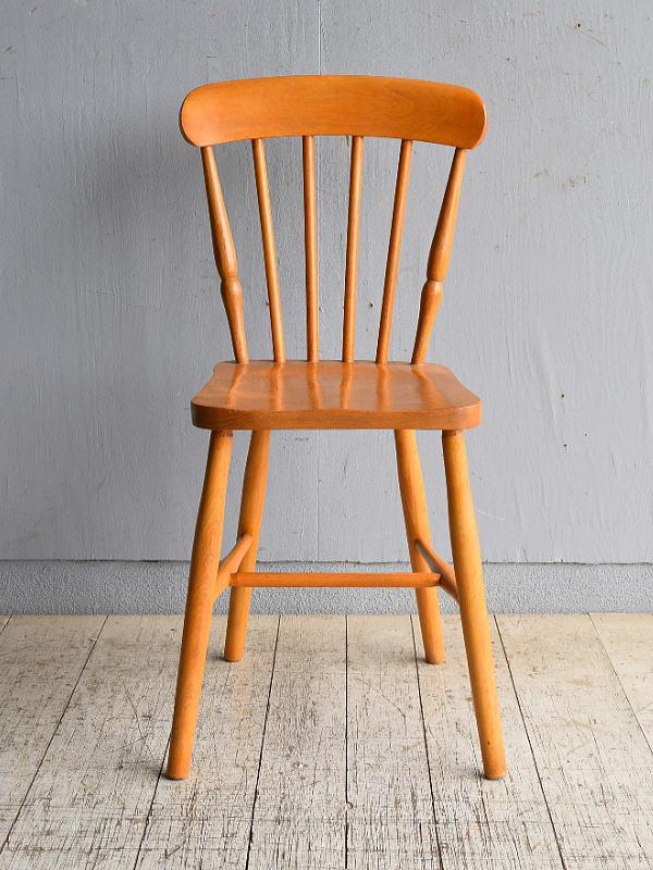 イギリス アンティーク家具 キッチンチェア 椅子 8553