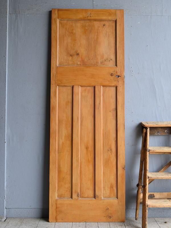 イギリス アンティーク パイン ドア 扉 建具 8566