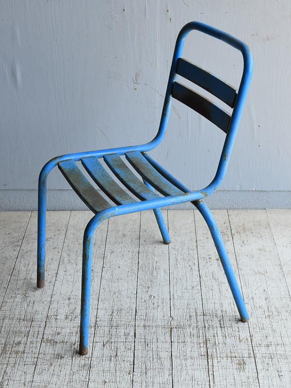 フレンチ アンティーク スタッキング ガーデンチェア 椅子 8587