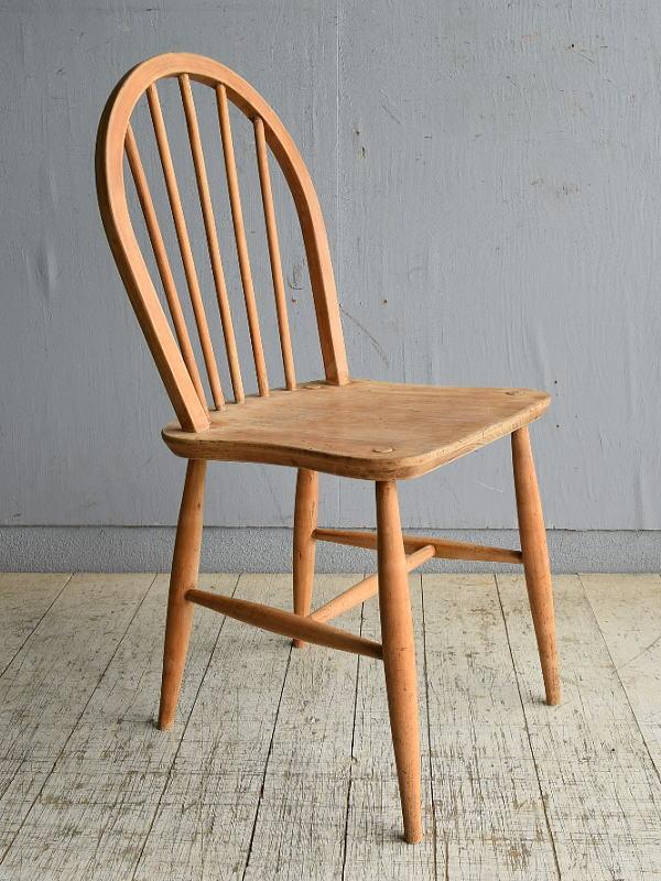 イギリス アンティーク家具 キッチンチェア 椅子 8592
