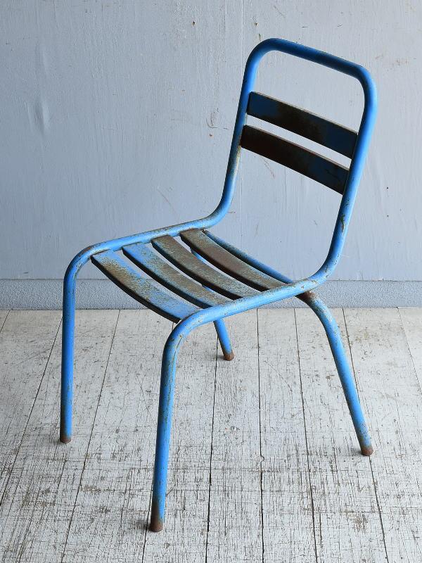 フレンチ アンティーク スタッキング ガーデンチェア 椅子 8616