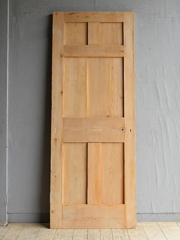 イギリス アンティーク パイン ドア 扉 建具 8649