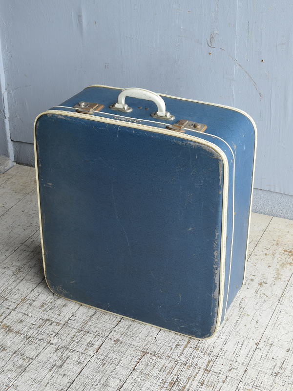 イギリス アンティーク スーツケース トランク ディスプレイ 旅行鞄 8666