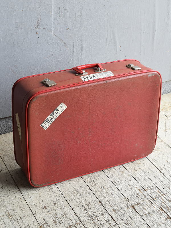 イギリス アンティーク スーツケース トランク ディスプレイ 旅行鞄 8667
