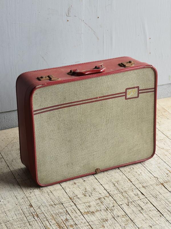 イギリス アンティーク スーツケース トランク ディスプレイ 旅行鞄 8669