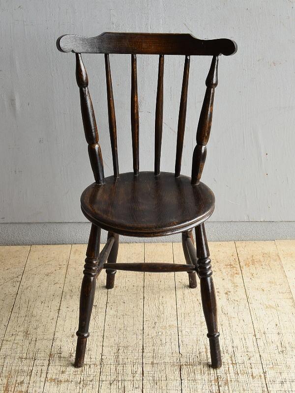 イギリス アンティーク家具 キッチンチェア 椅子 8702