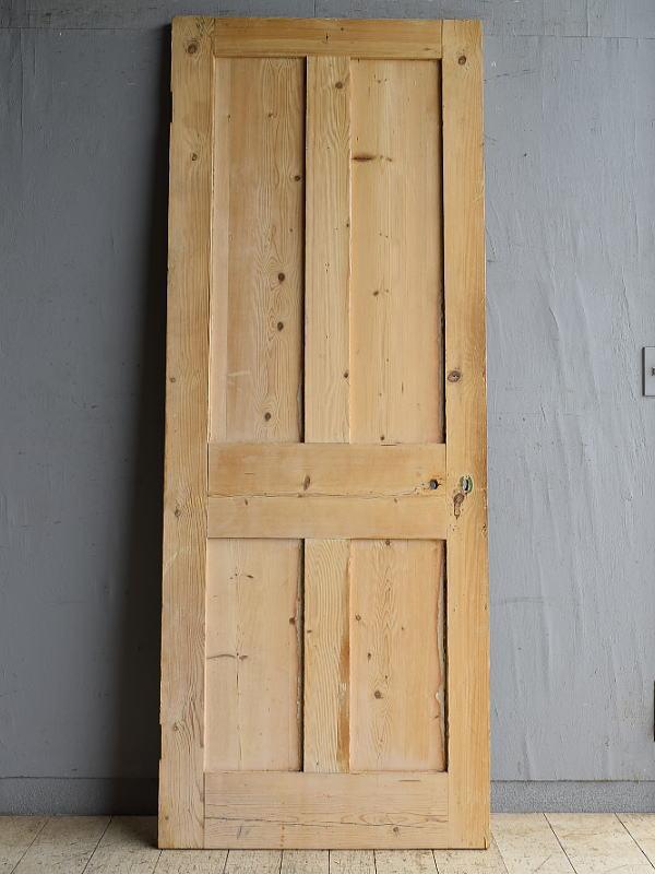 イギリス アンティーク オールドパイン ドア 扉 建具 8709