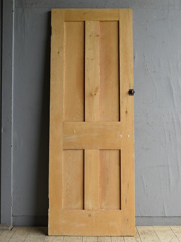 イギリス アンティーク オールドパイン ドア 扉 建具 8710