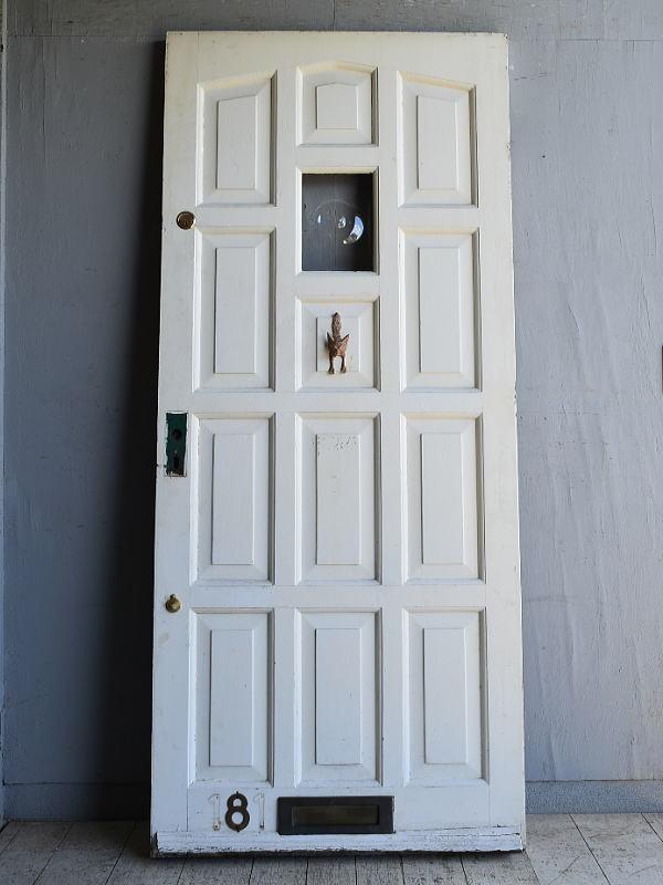 イギリス アンティーク ドア 扉 建具 8713