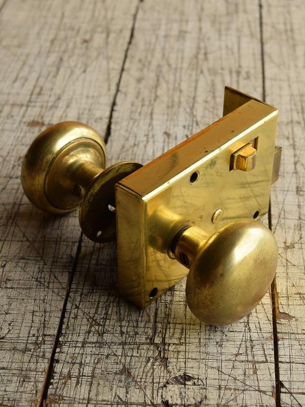 イギリス アンティーク ラッチ&ドアノブ 建具金物 8715
