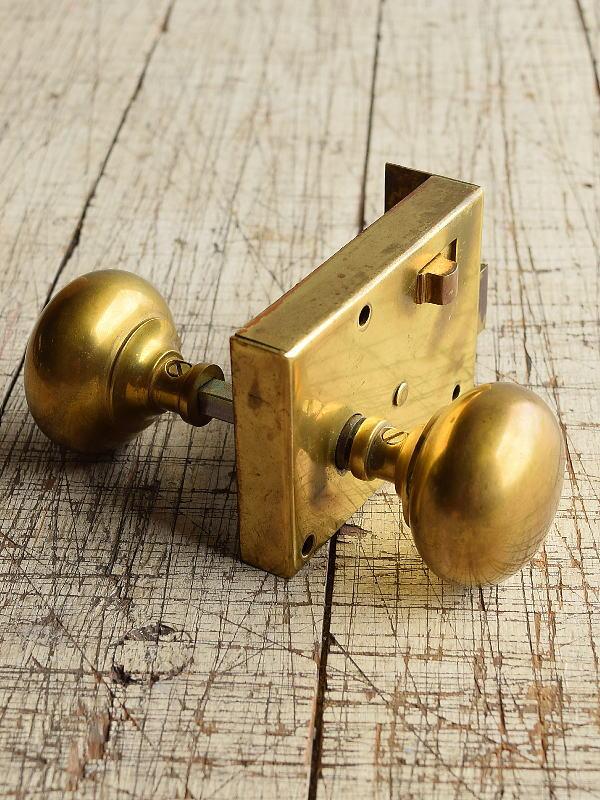 イギリス アンティーク ラッチ&ドアノブ 建具金物 8717
