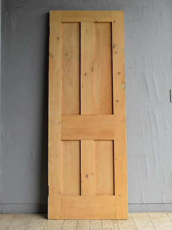 イギリス アンティーク オールドパイン ドア 扉 建具 8718