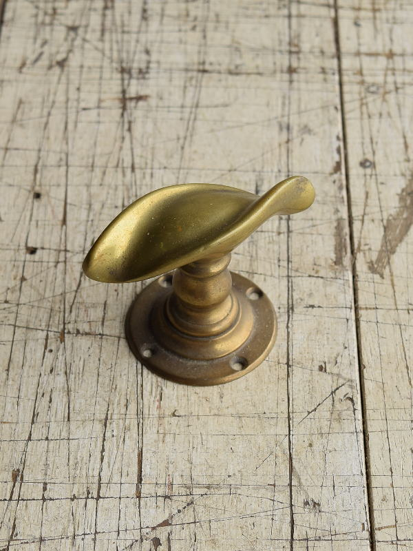 イギリス アンティーク 真鍮 ドアノブ 建具金物 握り玉 8742