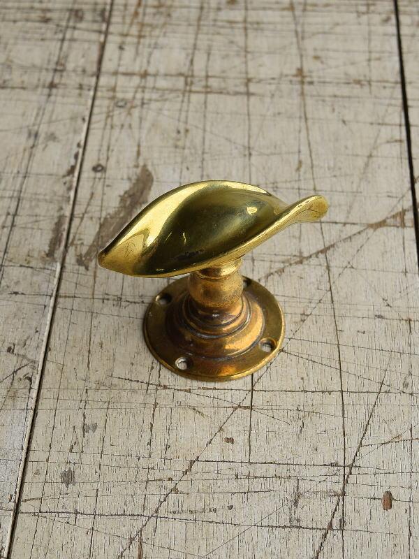 イギリス アンティーク 真鍮 ドアノブ 建具金物 握り玉 8749