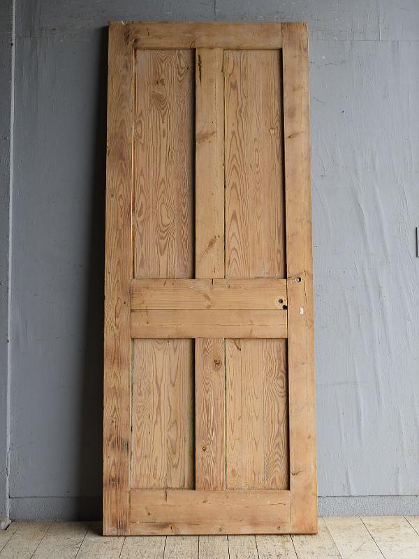 イギリス アンティーク オールドパイン ドア 扉 建具 8756