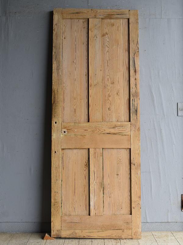 イギリス アンティーク オールドパイン ドア 扉 建具 8757