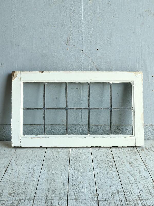 イギリス アンティーク 窓 無色透明 8766