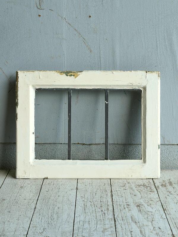 イギリス アンティーク 窓 無色透明 8768