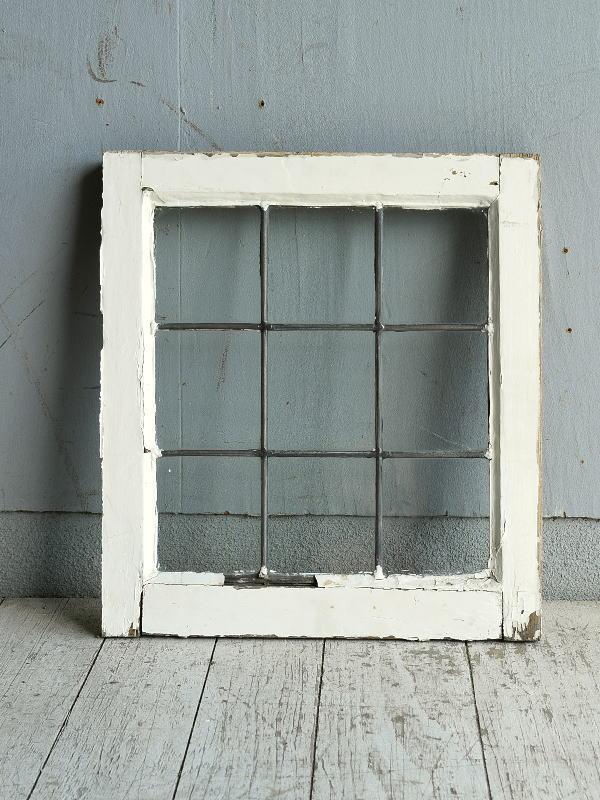イギリス アンティーク 窓 無色透明 8769
