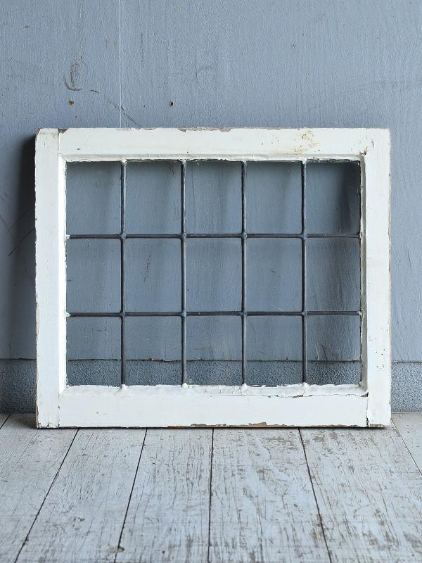 イギリス アンティーク 窓 無色透明 8770