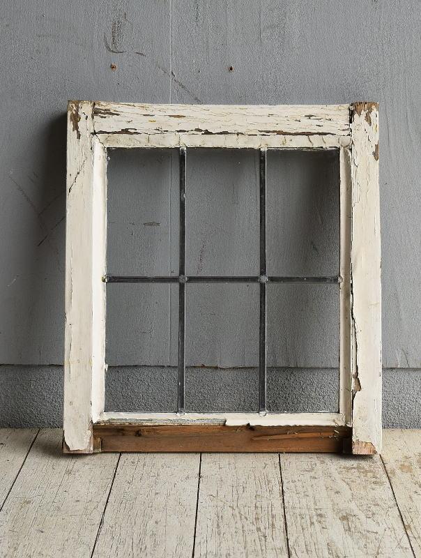 イギリス アンティーク 窓 無色透明 8779