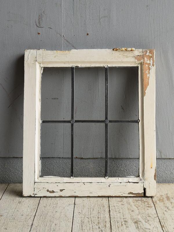 イギリス アンティーク 窓 無色透明 8780