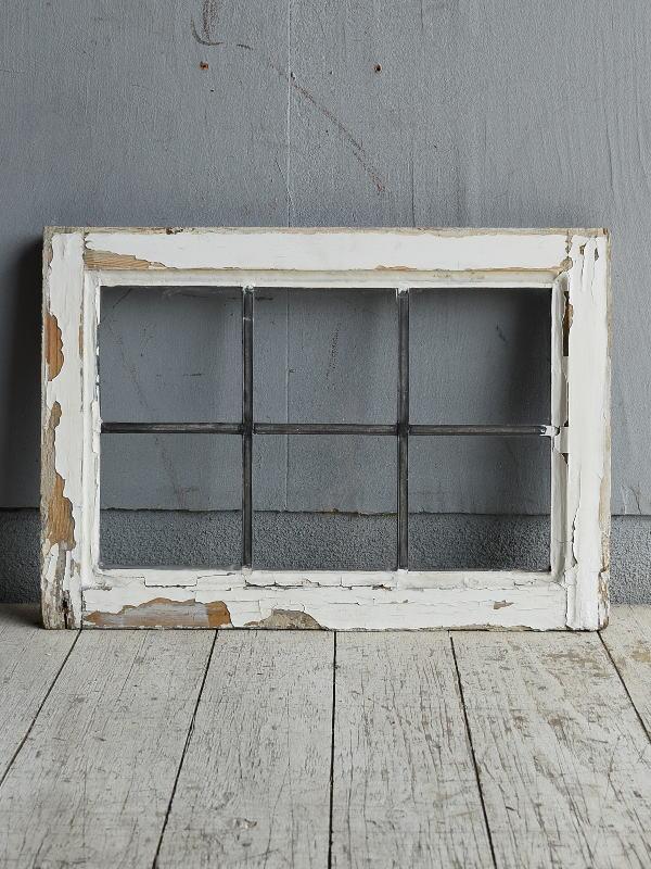 イギリス アンティーク 窓 無色透明 8785