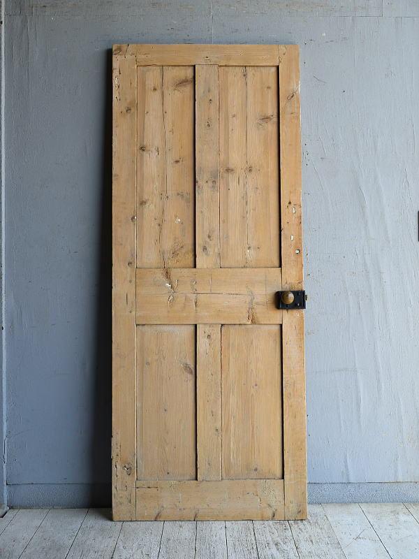 イギリス アンティーク オールドパイン ドア 扉 建具 8794