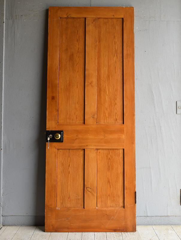 イギリス アンティーク パインドア 扉 建具 8812