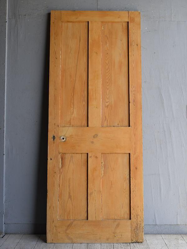 イギリス アンティーク オールドパイン ドア 扉 建具 8821