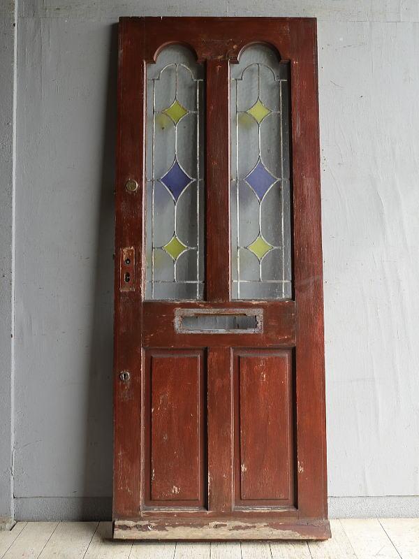 イギリス アンティーク ドア 扉 建具 8822