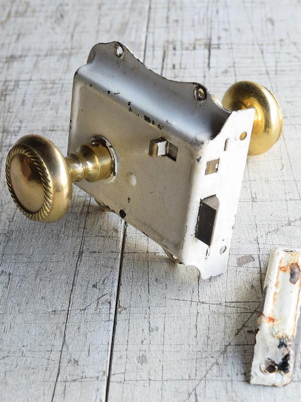 イギリス アンティーク ラッチ&ドアノブ 建具金物 8826