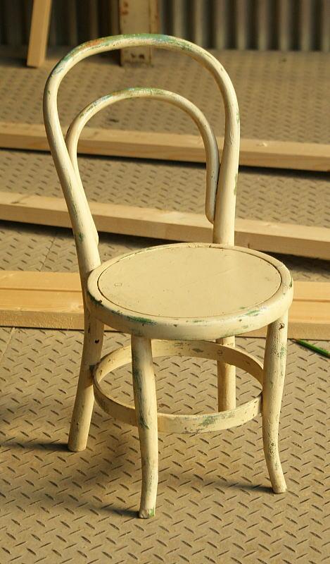 イギリス アンティーク エイジドペイント ベントウッド椅子 883