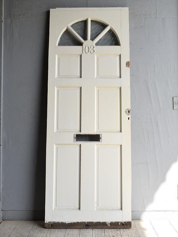 イギリス アンティーク ドア 扉 建具 8844