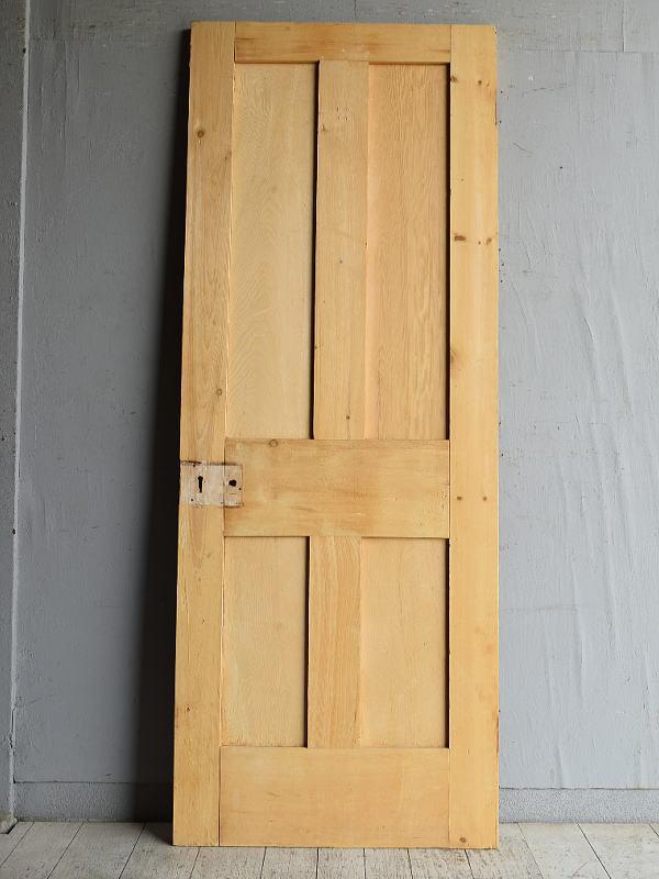 イギリス アンティーク オールドパイン ドア 扉 建具 8852
