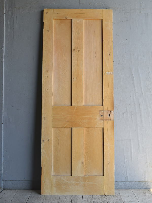 イギリス アンティーク オールドパイン ドア 扉 建具 8854