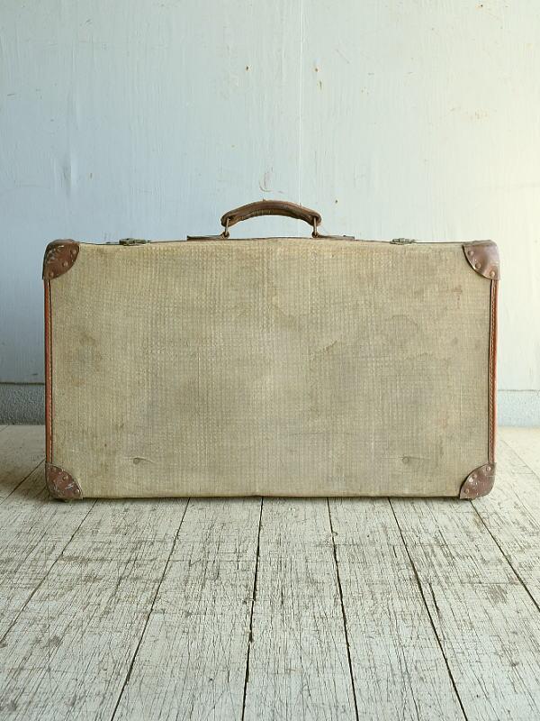 イギリス アンティーク スーツケース トランク ディスプレイ 旅行鞄 8862