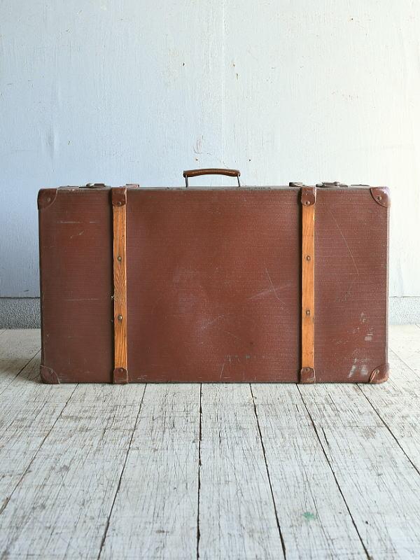 イギリス アンティーク スーツケース トランク ディスプレイ 旅行鞄 8863
