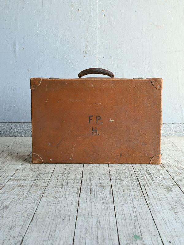イギリス アンティーク スーツケース トランク ディスプレイ 旅行鞄 8864