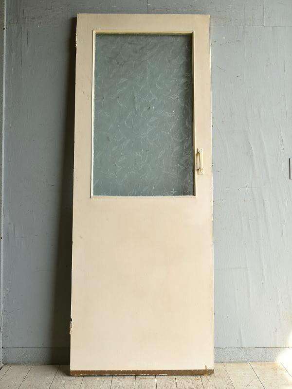 イギリス アンティーク ガラス入りドア 扉 建具 8867
