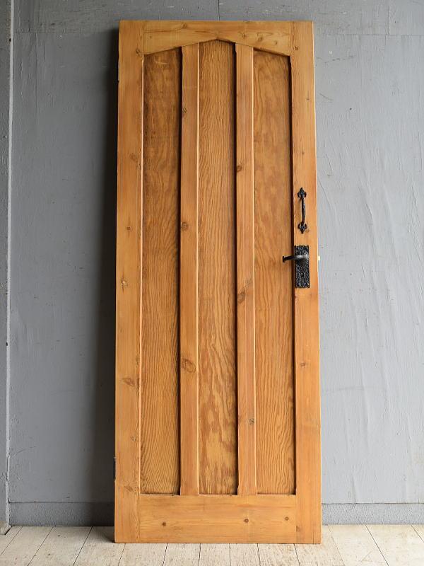 イギリス アンティーク パイン ドア 扉 建具 8878