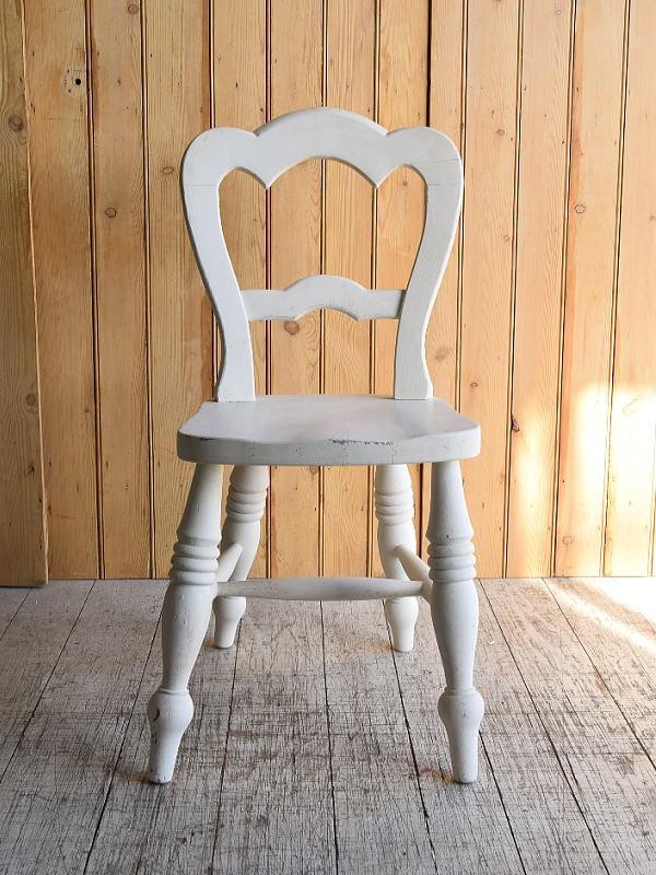 イギリス アンティーク家具 キッチンチェア 椅子 8884