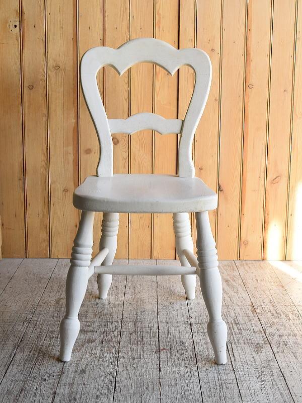 イギリス アンティーク家具 キッチンチェア 椅子 8886