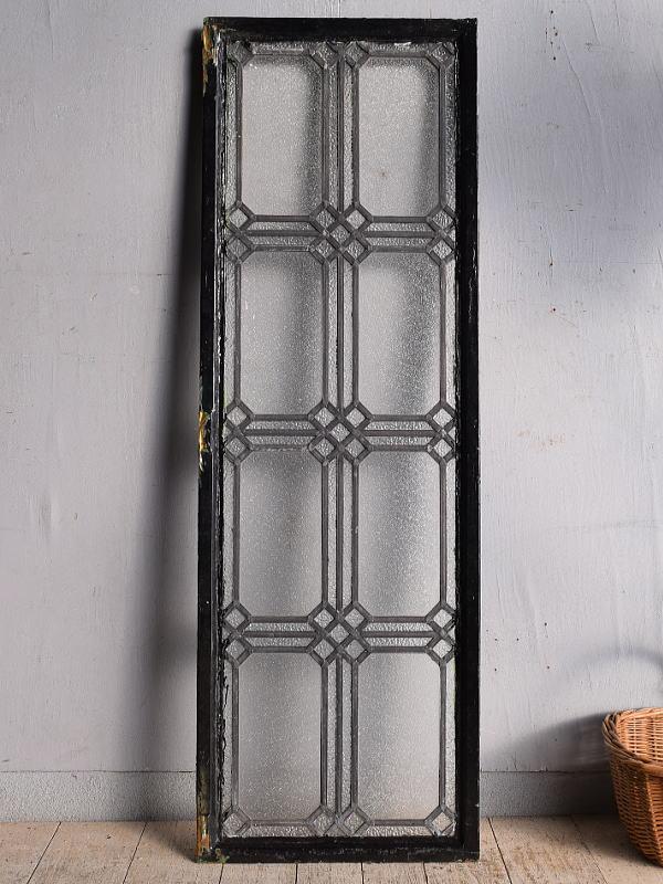 イギリス アンティーク 窓 鉄枠 8951